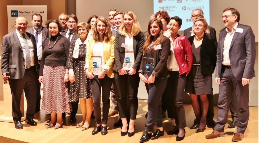 Meji 2018 - Les lauréates, la Marraine du Prix et les membres du jury