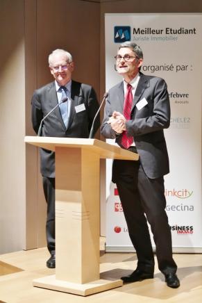 Prix MEJI 2018 Jean-Luc TIXIER et Patrice BONDUELLE