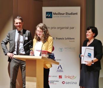 Prix MEJI 2018 Olivier Dagrenat, Léa Cuzzucoli et Anne-Laurence Moneger