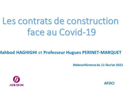 Succès de la Webconférence JURIDIM – AFDCI du 11 février 2021