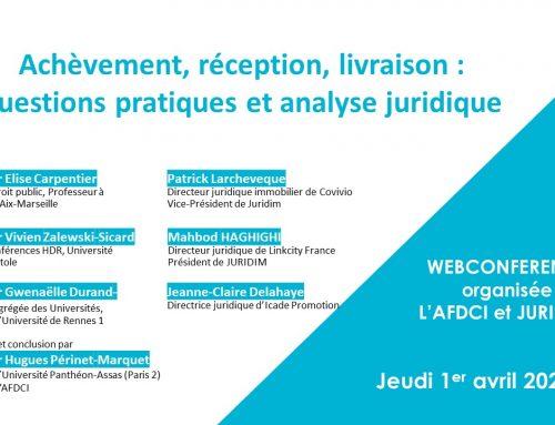 Succès pour la deuxième conférence Juridim – AFDCI